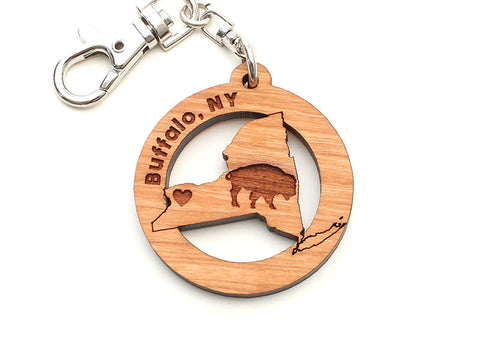 Buffalo New York Key Chain