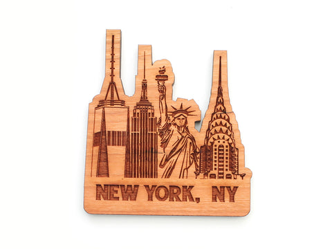 New York City Landmarks Magnet
