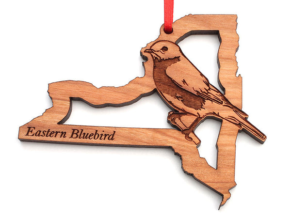 New York State Bird Ornament - Eastern Bluebird