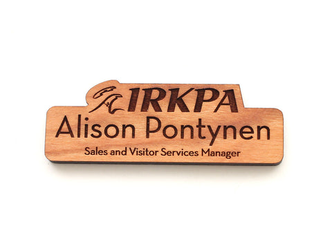 Isle Royal Name Badge Contoured