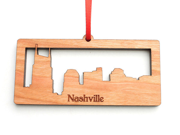 Nashville Ornament Alt - Nestled Pines