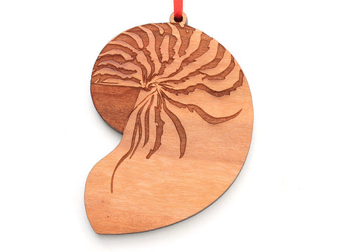 Nautilus Shell Ornament - Nestled Pines