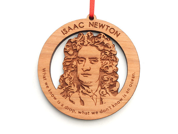 Isaac Newton Ornament - Nestled Pines