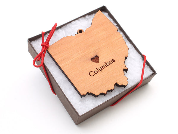 Taste of Toledo Columbus Ohio Ornament - Nestled Pines