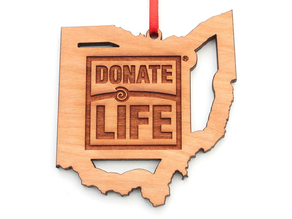 Ohio Donate Life Ornament