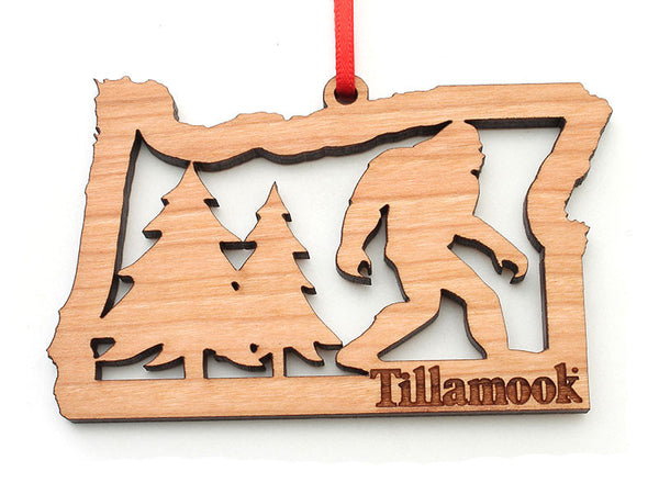 Tillamook Oregon State Sasquatch Ornament