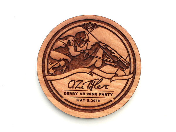O.Z. Tyler Kentucky Bourbon Distillery Kentucky Derby Logo Magnet