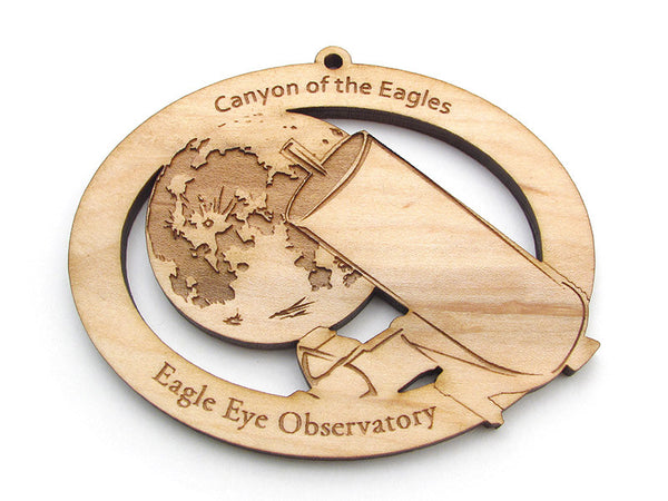 Canyon of the Eagles Observatory Ornament - Nestled Pines