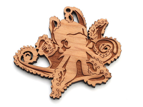 Octopus B Ornament - Nestled Pines
