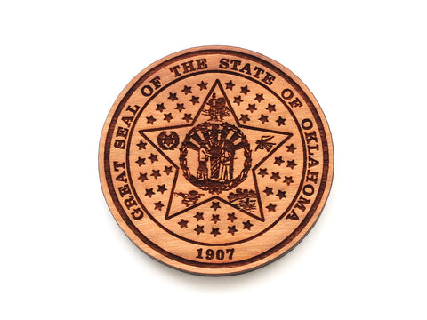Oklahoma State Seal Magnet