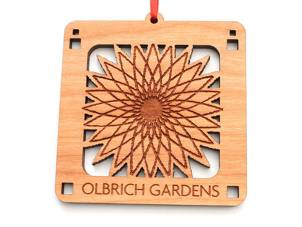 Olbrich Gardens Logo Ornament - Nestled Pines