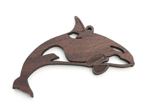 Orca (Killer Whale) Ornament - Nestled Pines