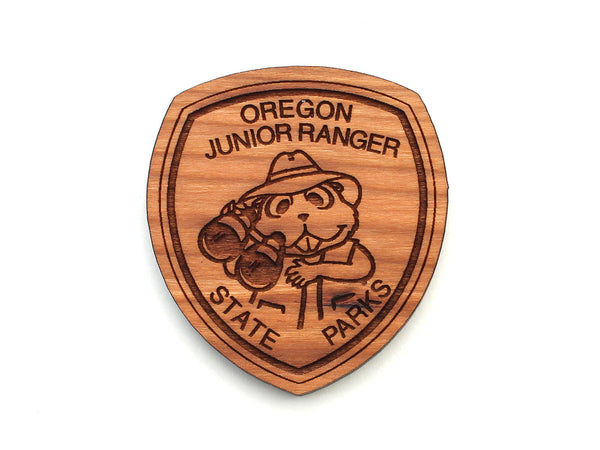 Oregon State Parks Junior Ranger Badge Magnet