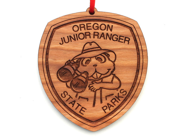 Oregon State Parks Junior Ranger Badge Ornament