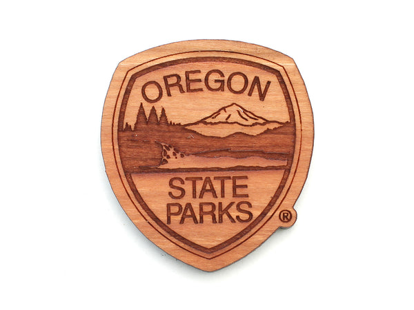 Oregon State Parks Shield Logo Magnet