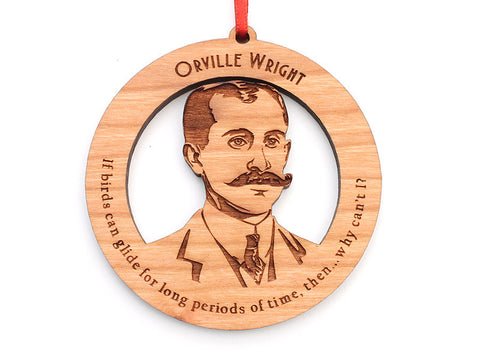 Orville Wright Ornament - Nestled Pines