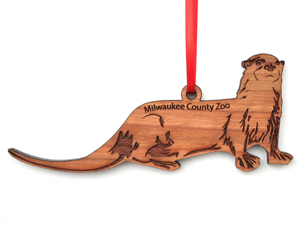 Milwaukee County Zoo Otter Ornament