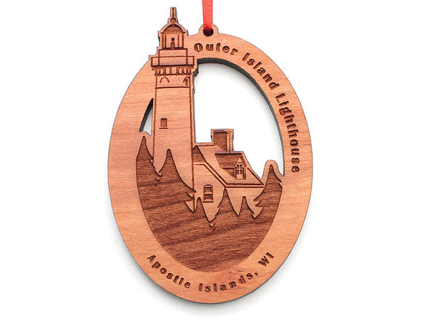 Good Earth Outfitters Outer Island Light Ornament - Nestled Pines