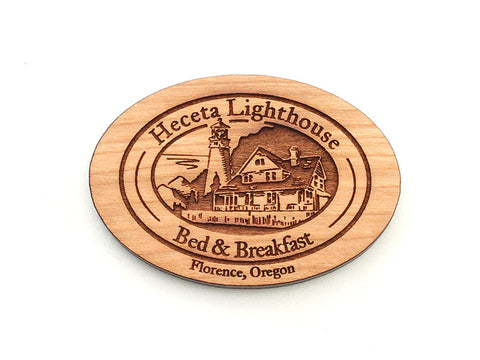 Heceta Lighthouse Logo Magnet