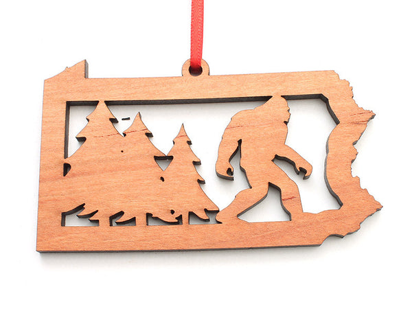 Milford Craft Show Pennsylvania Sasquatch Insert Ornament - Nestled Pines