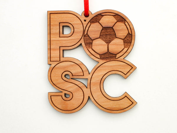 Taste of Toledo PSC Soccer Text Ornament