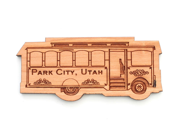 Park City Trolley Magnet