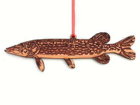 Northern Pike Ornament - Nestled Pines