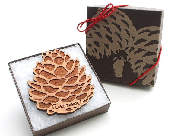 Zephyr Cove Pine Cone Ornament - Nestled Pines - 2