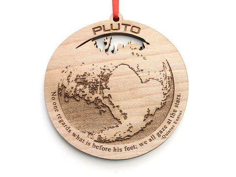 Pluto Dwarf Planet Ornament - Nestled Pines