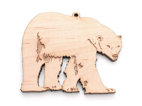 Polar Bear Ornament - Nestled Pines