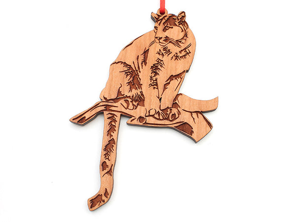 Tiger Creek Mountain Lion Ornament (2) - Nestled Pines