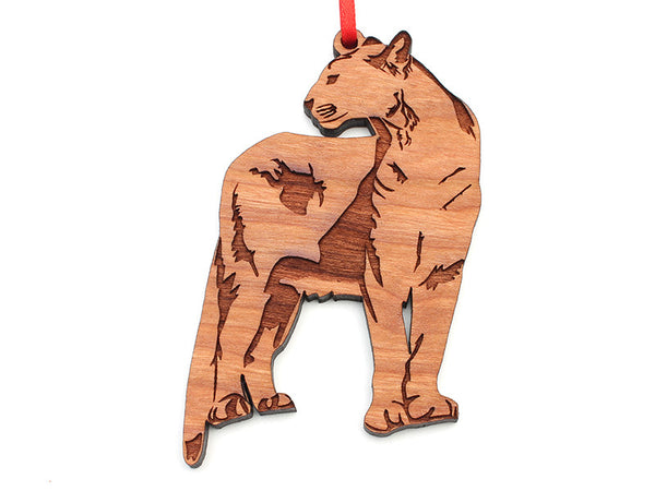 Tiger Creek Mountain Lion Ornament (3) - Nestled Pines