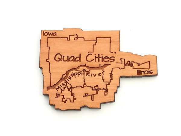 WaterMark Corners Quad Cities Magnet - Nestled Pines