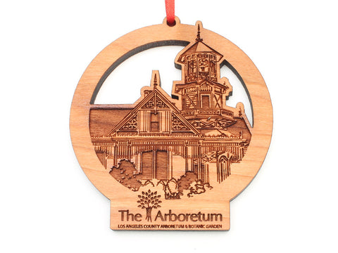L. A. Arboretum Queen Anne's Cottage Custom Ornament