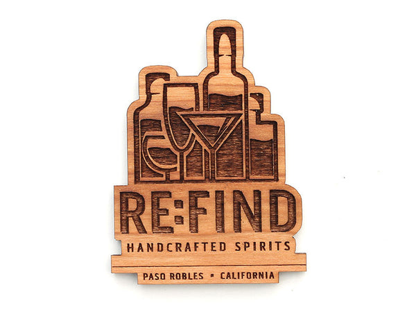 RE:FIND Bottle Logo Magnet