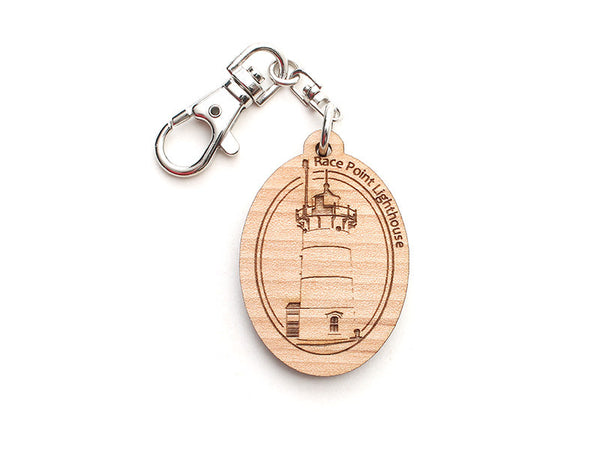 Cape Cod Race Point Lighthouse Key Chain - Nestled Pines