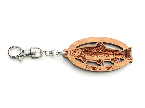 Rainbow Trout Key Chain - Nestled Pines