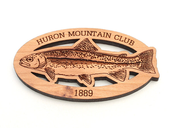 Huron Mountain Rainbow Trout Magnet