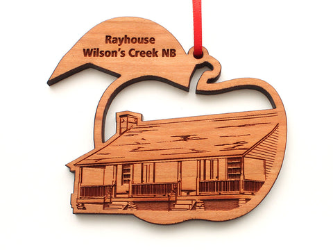 Rayhouse Wilson's Creek NB Apple Ornament