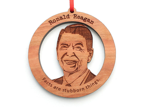 Ronald Reagan Ornament - Nestled Pines