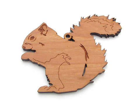 Red Squirrel Ornament - Nestled Pines