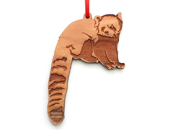 Red Panda A Ornament - Nestled Pines