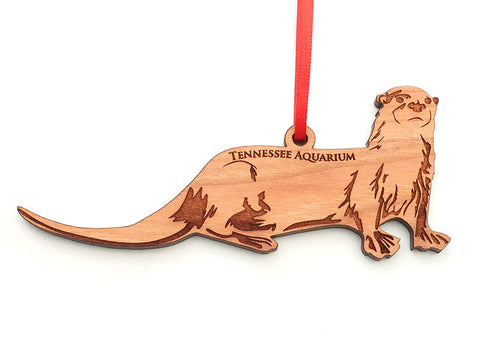Tennessee Aquarium River Otter Ornament