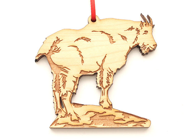 Rocky Mountain Goat Ornament
