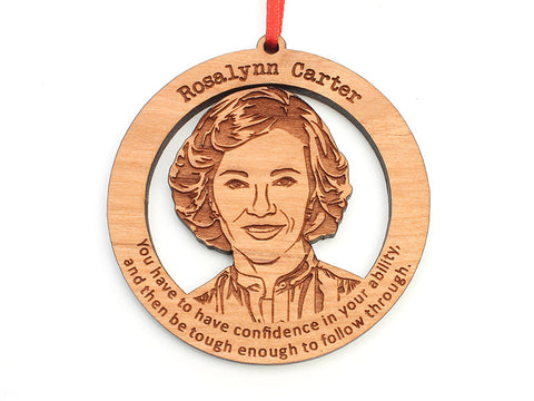 Rosalynn Carter Ornament - Nestled Pines