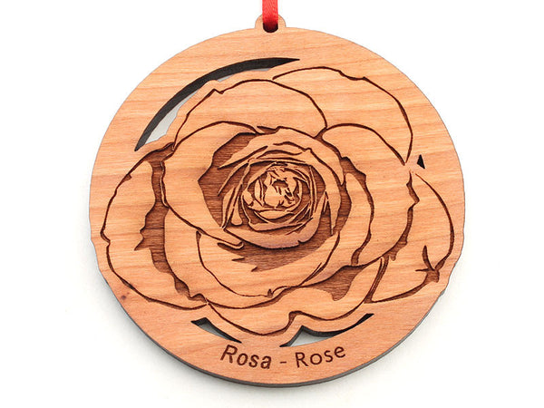Rose Flower Ornament
