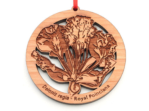 Royal Poinciana Flower Ornament