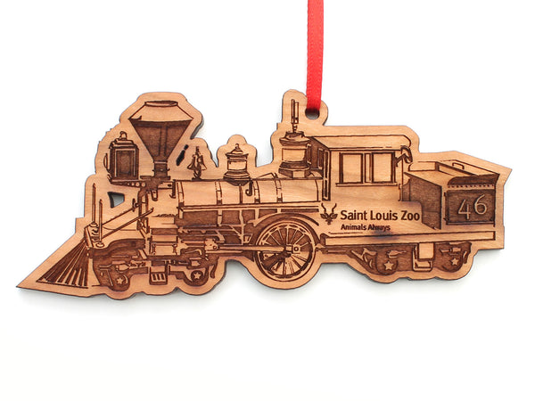 Saint Louis Zoo Train Ornament