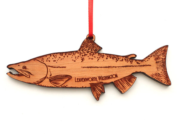 Leavenworth Washington Salmon Ornament