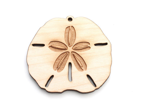 Sand Dollar Ornament - Nestled Pines